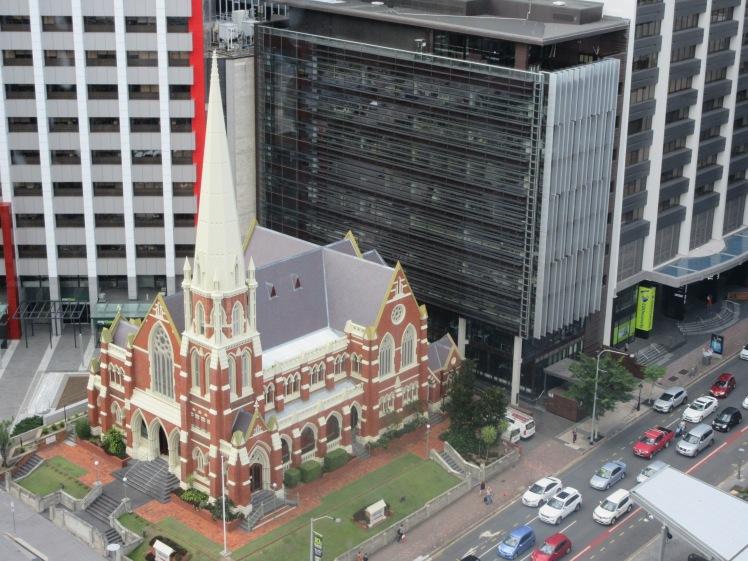 Viewing platform, Clock Tower, Brisbane Museum