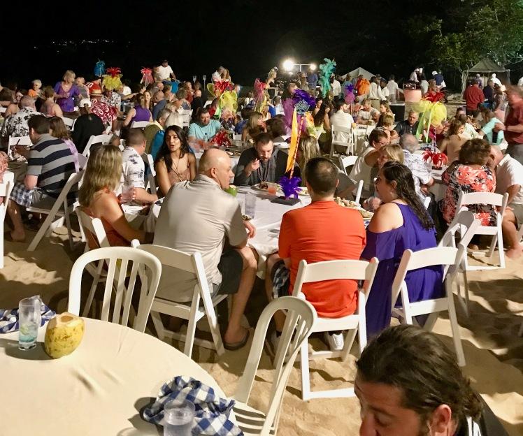La Toc beach party
